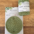 New - Body Scrubbies in Sage