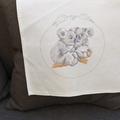 """""""Koala Cuddles"""" -Unmounted Cross Stitch"""