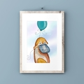 Platypus  #2 Watercolour print Digital Download