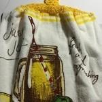 Crochet top tea towels