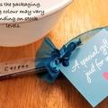 Tea Lovers Gift Set Stamped,Teaspoon, spoons, teacup, tea, spoons, custom, nana,