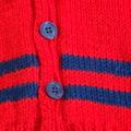 SIZE 3 (plus)  Hand knitted: Acrylic, Washable, Unisex
