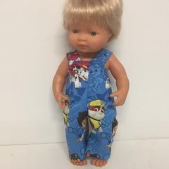 Miniland Dolls Paw Patrol Overalls to fit 38 cm dolls