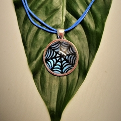 HALLOWEEN - SPIDER WEB NECKLACE