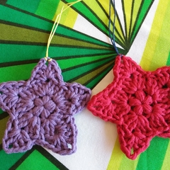 Christmas Decoration-Crochet Stars