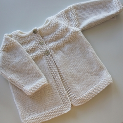 White Cardigan - 