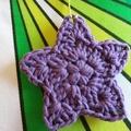 Christmas Decoration-Crochet Stars