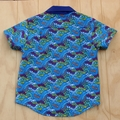 Boy's Button up Shirt - Vrooom - Size 4