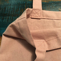 Shopper Tote, Shoulder Bag, Dusty Pink, Heavy Weight Cotton, Canvas, Natural Fib