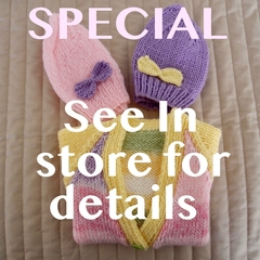 ** SPECIAL....ENDS 29/2/20 **    Buy 2 pieces of knitwear and receive 3rd  FREE!