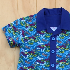Vrooom - Boy's Button up Shirt -  Size 4