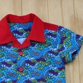 Boy's Button up Shirt - Vrooom - Size 2