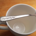 Coffee Molecular Structure, Formula, Coffee Spoon, Science, Pun gift,