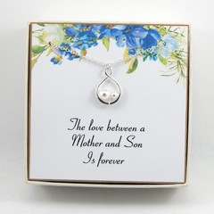Mother of the Groom Necklace,Gift from groom to mother, Mother Of The Groom gift