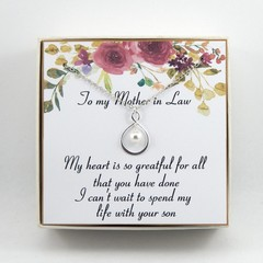 Mother of the Groom from bride Gift,Gift from bride to mother in law,Wedding gif