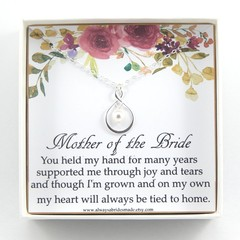 Mother of the Bride Gift,Mother Of The Bride Necklace,Mother of the Bride Gift B