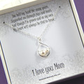 Mother Necklace,Mother of the Bride Necklace Gift,Gift from Daughter