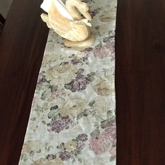 Table Runner Quality Floral Fabric