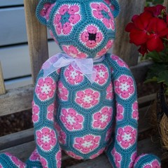 Cute African Flower Lollo bear