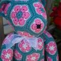 Cute African Flower Lollo bear