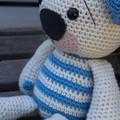 Cute and Snuggly Little Amigurumi Teddy
