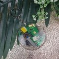 Resin Keyring - Recycled Computer Chip