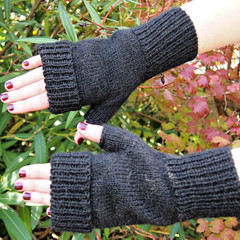 Fingerless Mitts custom made to order