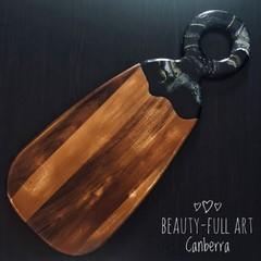 Resin Art Serving Board