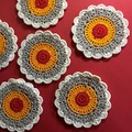'Desert Dreaming - Colours of Australia' Set of Six Coasters