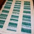 Mint Stripe Quilt