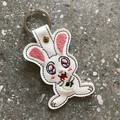 Monty Python Killer Bunny Embroidered Keyring