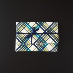 Plaid Gift Card Purse - Free postage