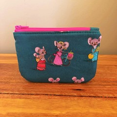 Coin purse - Mouse family
