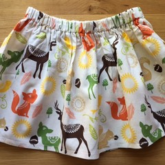Girls Skirt - Forest Life