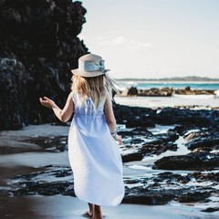 High Low dress - beach dress - girls dresses - girls dress - kids dresses - kids