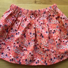 Girls Skirt - Wild Flower
