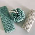 Crochet Spa Set Gift Box | Washcloth | Bath pouf | Eco-friendly | Reusable Bath