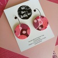 PINK LINK - OUR CIRCLE - DISC (HOOKS OR HOOPS)