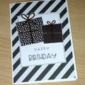 Happy Birthday card - presents