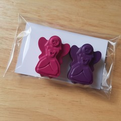 FREE POSTAGE | 15 sets | 2pk Fairy Princess crayons | Ready made