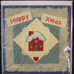 Christmas Card - Heart Cottage