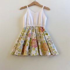 Twirly dress -  spring dress - girls dresses - girls dress - kids dresses - kids