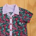 Boy's Button up Shirt - Hiding Cats - Size 3