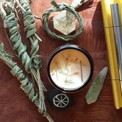 RELEASE | Let Go ~ Alchemy Botanical Candle ~ Lemongrass & Honeysuckle | Pure Es