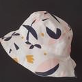 OUMU reversible bucket hat, summer hat, gift for her, teen sun hat, women's hat,