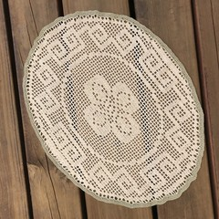 Large Oval Sand Table Doily