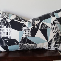 OUMU rectangle cushion cover, handmade in Melbourne, home decor, living room acc