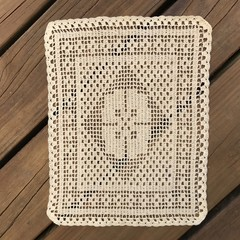 Cream Rectangle Table Mat