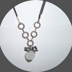 Fun cat pendant