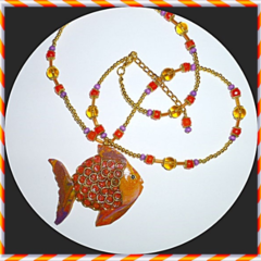 .A polymer clay fish